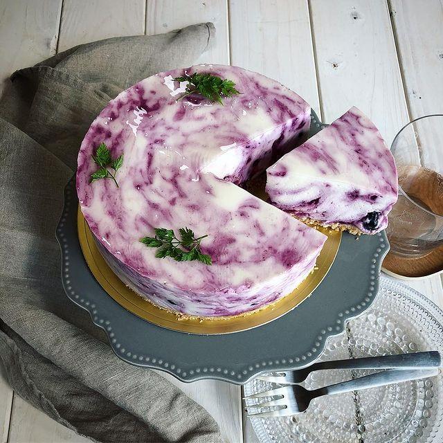 意外と簡単!マーブルレアチーズケーキレシピ