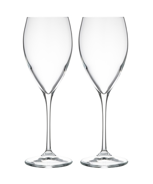 [Francfranc] 【2個セット】セレナ グラスセット ホワイト