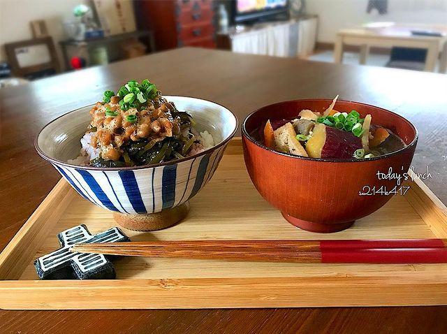 ダイエット向けトッピング!めかぶ納豆レシピ