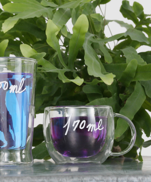 [DULTON] DOUBLE WALL GLASS CUP LUNGO