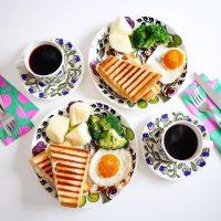 忙しいママの味方。子供が喜ぶ《ワンプレート朝ごはん》のレシピと献立をご提案
