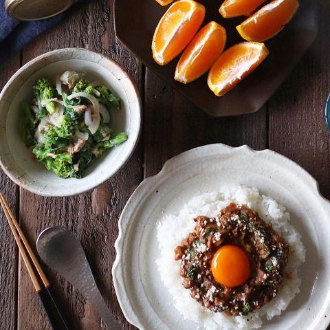 菜の花と新玉ねぎのツナマリネサラダレシピ