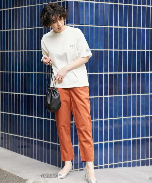 [Chaco closet] MEI メイChaco closet別注 オーバーサイズ半袖Tシャツ