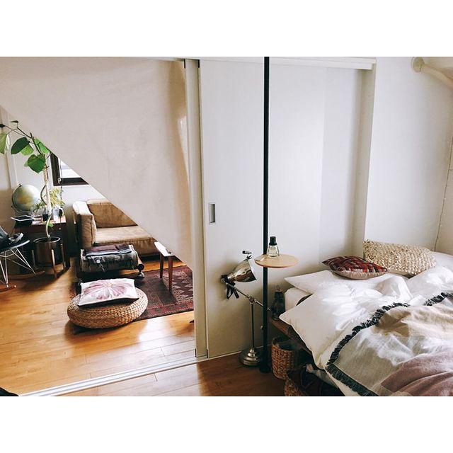 二人暮らし寝室