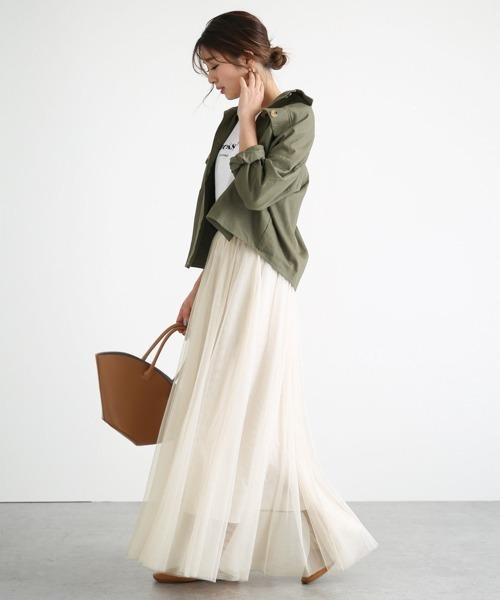 【La-gemme】チュールスカート