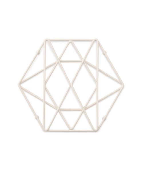 [Francfranc] ワイヤー鍋敷き ホワイト