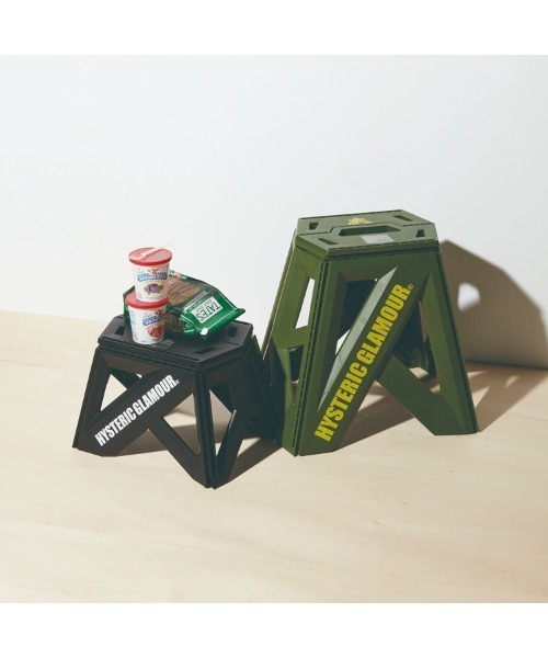 [HYSTERIC GLAMOUR] TRIANGLE WOMAN フォーダブルチェア23cm