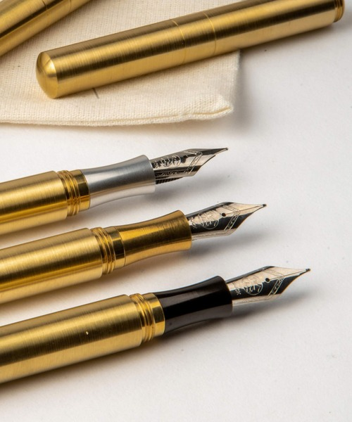 [HIGHTIDE] SCHONDSGN POCKETSIX ショーン・デザイン ポケットシックス (ショートポケットペン) ブラス