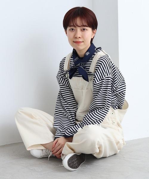[PAR ICI] 【WEB別注カラー】デニムカツラギ オーバーオール