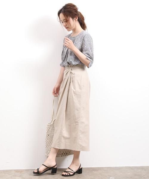 ウエストツイストタイトスカート