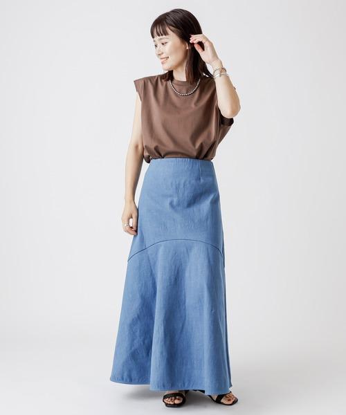 Omekashi デニムマーメイドスカート