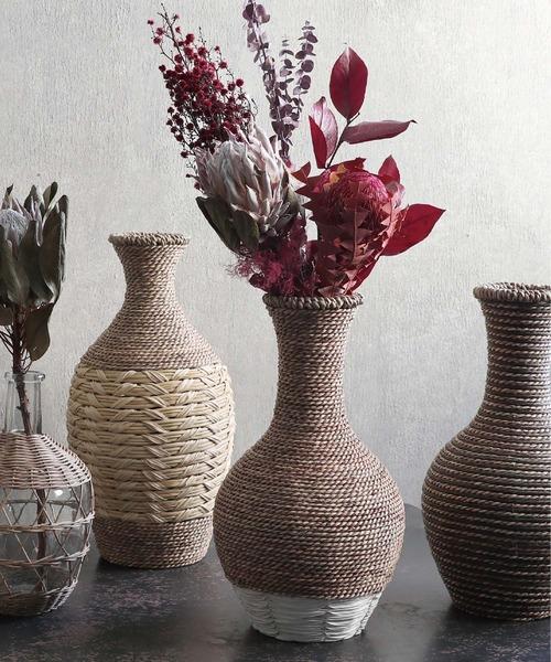 [Global Forme Concrete] IINA WHITE イーナ ホワイト 花瓶