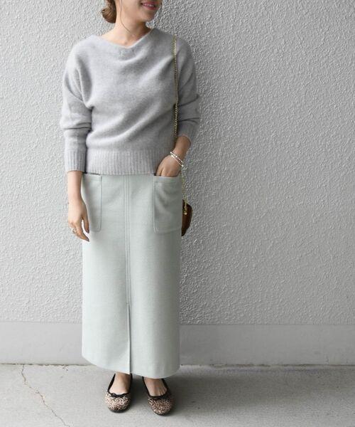 SHIPS any: ウォーミー カット ポケットスカート◇