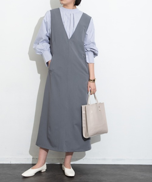 [YARD PLUS/AUNT MARIE'S] 【2021ss / new arrival】2way袖ボリュームブラウス / AUNT MARIE'S