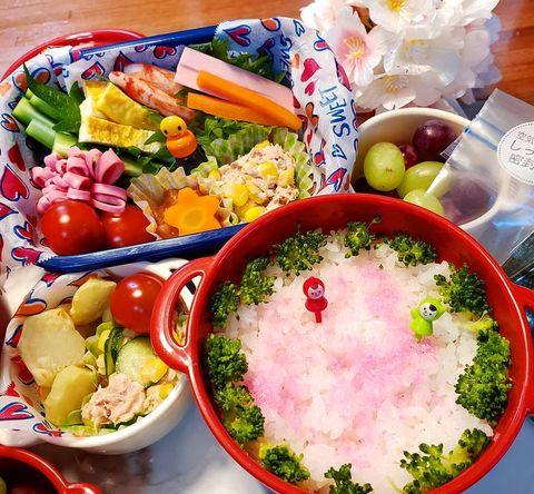 一緒に巻くと子供が野菜を食べるカニカマ♡