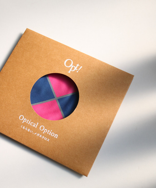 [SiNCERE] 〈Opt!/オプト〉Optical Option Cloth/くもらないメガネクロス