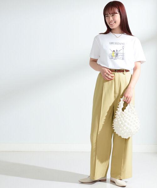 [BEAMS WOMEN] NAIJEL GRAPH × Ray BEAMS / 別注 Dance Tシャツ