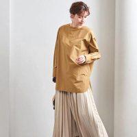 40代女性に似合うプリーツスカートの着こなし方《2021》春コーデの主役に◎