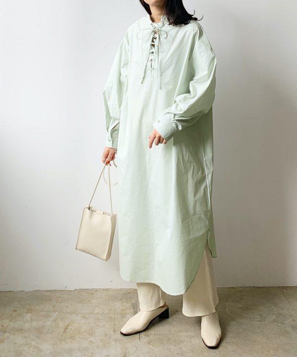 【Lian】シャツワンピース