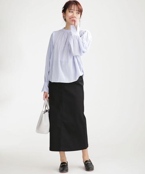 WEB限定/超撥水ストレッチタイトスカート