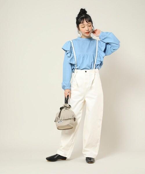 [FREAK'S STORE] ▽OUTDOOR PRODUCTS/アウトドアプロダクツ 別注フリンジ巾着バッグ