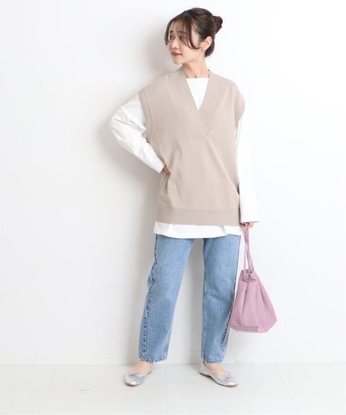 [IENA] 【Creed /クリード】エコスエード巾着バッグ◆