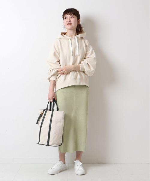 [Spick & Span] ≪追加≫フェイクスエードストレッチタイトスカート2◆