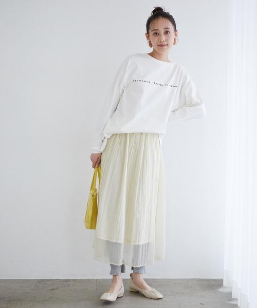 シアーランダムスカート