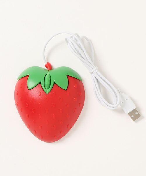 かわいすぎる♡イチゴ型マウス