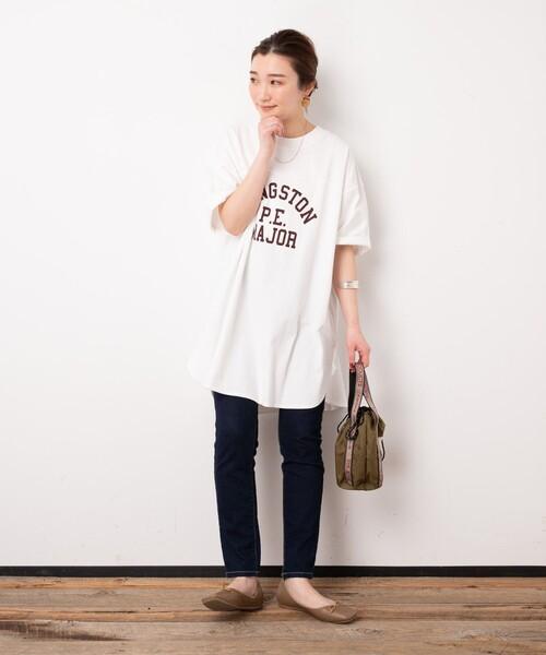 [FREAK'S STORE] ▽【WEB限定】PENNEYS/ペニーズ 別注ピグメントフットボールTシャツ