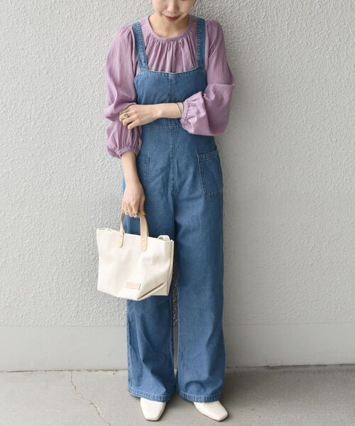 [SHIPS for women] CIMARRON JEANS:RETRO サロペット