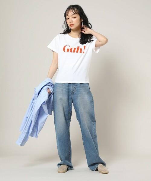 [FREAK'S STORE] Lisa Says Gah/リサ セイ ガウ GAH TEE/ガウT(チビTシャツ)