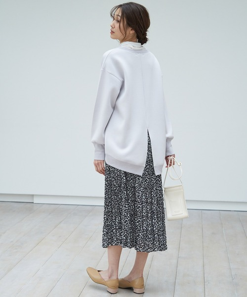 [ROPE' PICNIC] サテンワッシャープリーツスカート
