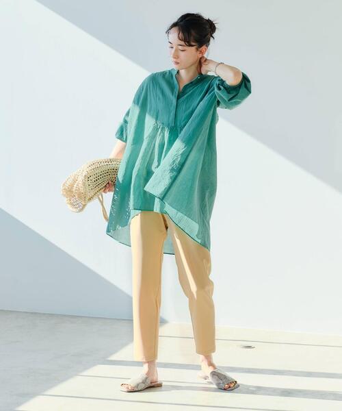 [green label relaxing] [ 洗濯可能 / オルマイ ] ◆SC テーパード パンツ <34-44サイズ>