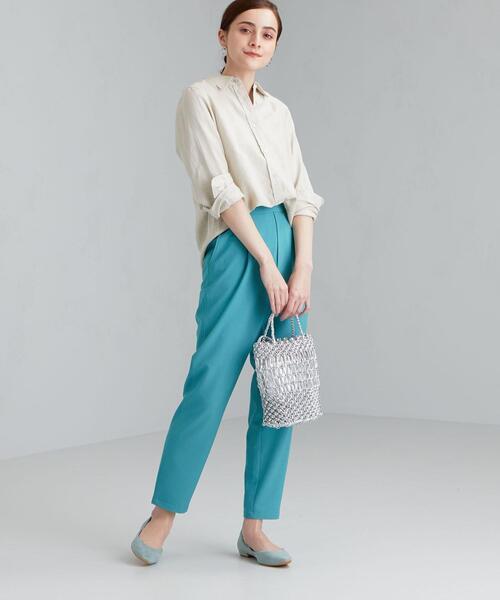 [green label relaxing] [ コルトレイクリネン ] ★★SC レギュラー シャツ フリーサイズ