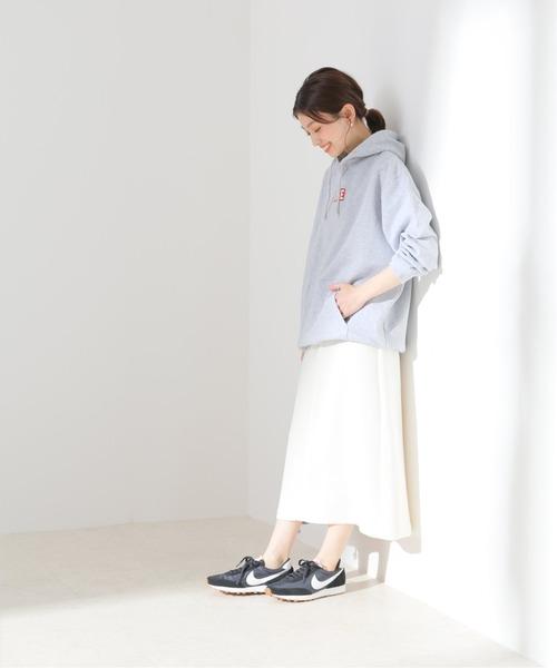 [IENA] ツイードAラインスカート【手洗い可能】◆