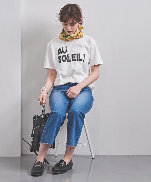 [UNITED ARROWS] 別注<m's braque(エムズ ブラック)>AU SOLEIL Tシャツ