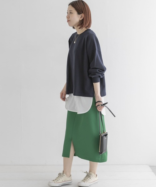 [URBAN RESEARCH Sonny Label] 【WEB限定】カラータイトスカート