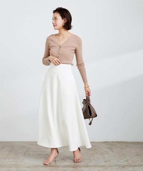[ur's] サーキュラーロングスカート