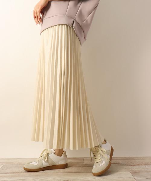 [BITTOKO] PUプリーツスカート