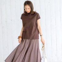 《2021》ロングスカートで作る夏の装い。コーデの幅が広がる着こなし方って?
