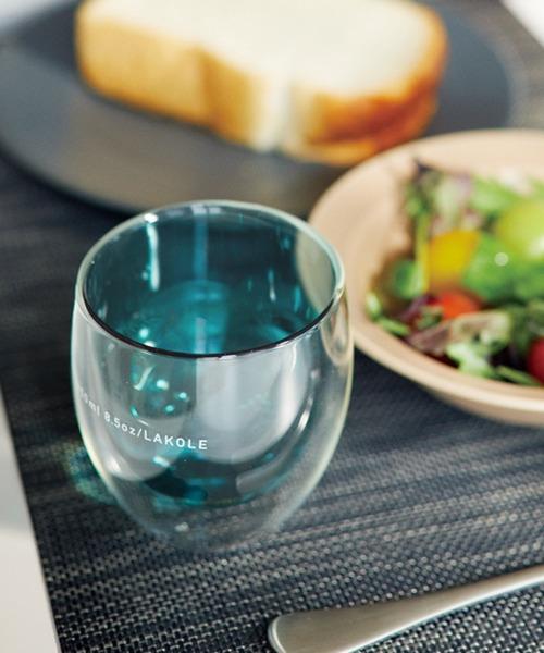 [LAKOLE] GLASS TUMBLER COLOR[250ml] / LAKOLE