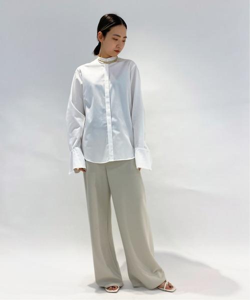 [Deuxieme Classe] SOKTAS スタンドカラーシャツ6