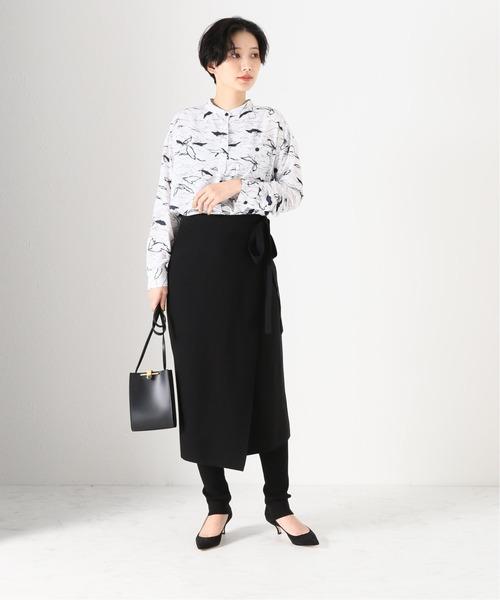 [IENA] ラップスカート・パンツ セット