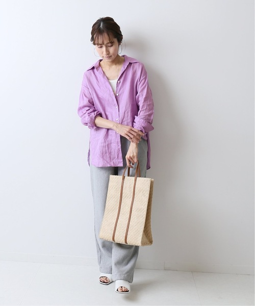 [Spick & Span] FRENCH LINEN シャツ◆