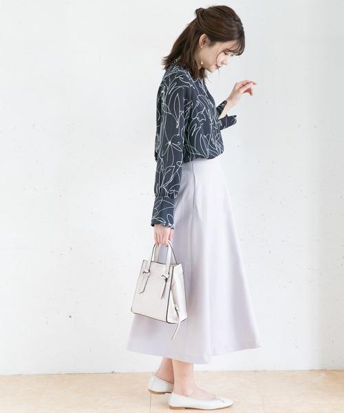 【WEB限定】カラーフレアースカート