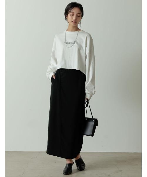 [Re:EDIT] ポンチラップ風ナロースカート