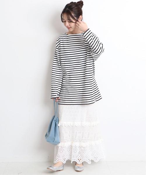 30/2 天竺サイドスリットプルオーバー【手洗い可能】◆