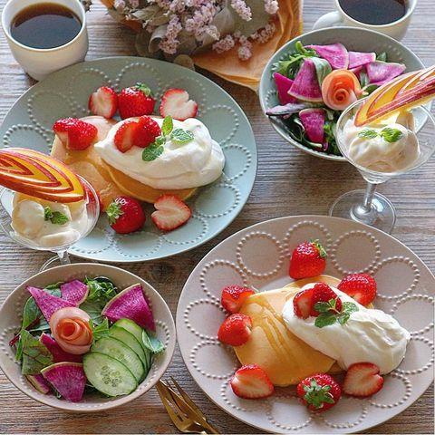 苺とクリーム