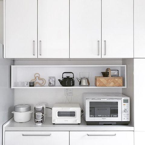 お気に入りのキッチンアイテムは見せる収納を